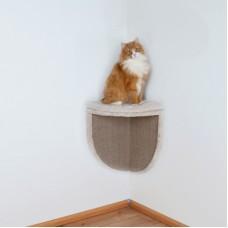 Grebalica za mačke ugaona zidna montaža