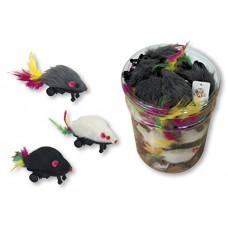Igračka za mace miš na točkićima
