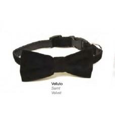 Ogrlica za mace sa somot mašnom